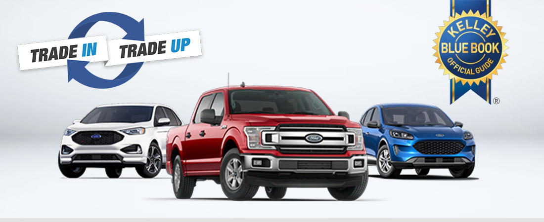 Ford Lineup, KBB Logo, Trade Up