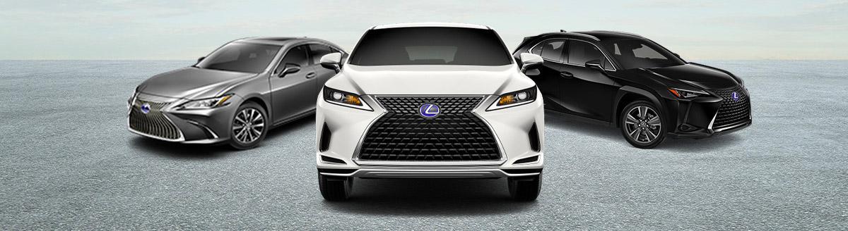 Lexus Hybrid Lineup