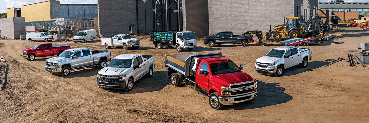 Chevy truck lineup